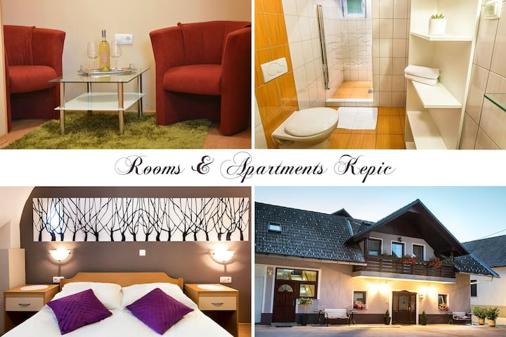 Cozy room for 1 or 2 person - close to the airport - Zgornji Brnik - Bed & Breakfast