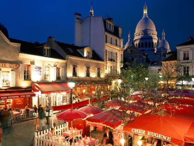 Studio - quiet passage / Montmartre - Abbesses - Paris - Daire