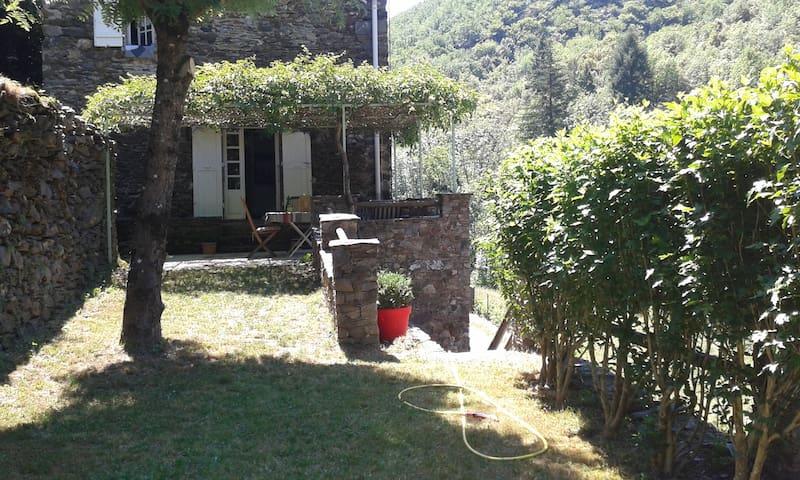 Petite maison de charme au cœur des Cévennes - Valleraugue - Huis