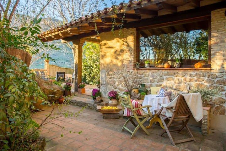 La Casa del Bosque Valle del Jerte 4 personas - Navaconcejo - Huis