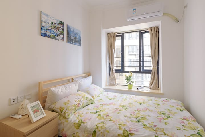 Cozy  Room  in  City Center&5 Min to MTR Queen Bed - Guangzhou