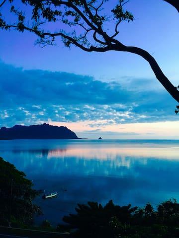 Ocean View Master Bedroom Retreat...... - Kaneohe - Casa