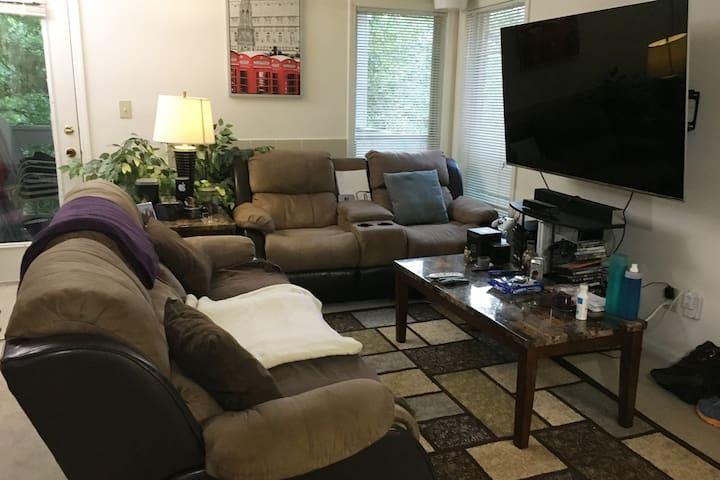 Cozy Tech Savvy Bachelor Pad built for comfort! - Duluth - Apartament