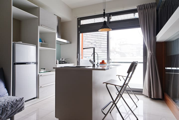 Your home in Taipei! Comfy new 2rm apt. MRT Donghu - Taipei - Daire