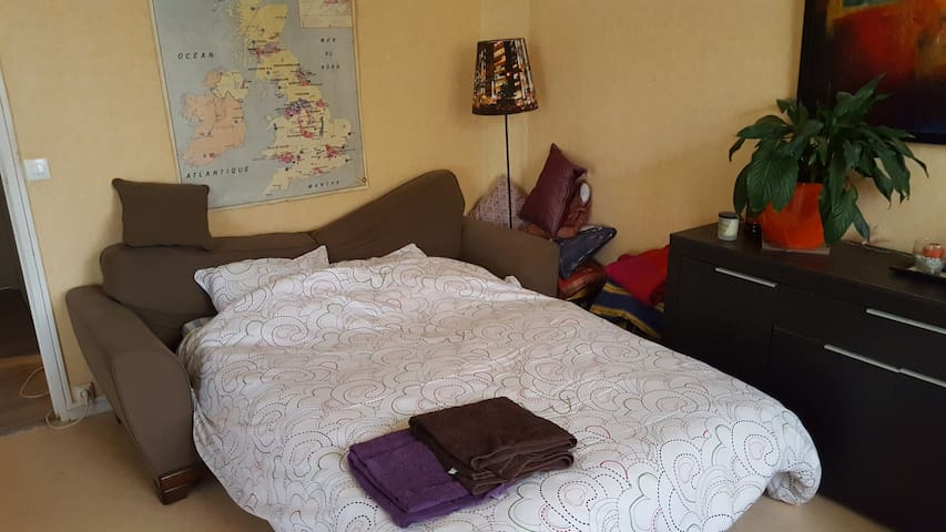 One-bedroom apartment in Montigny lès Metz - Montigny-lès-Metz - Lägenhet
