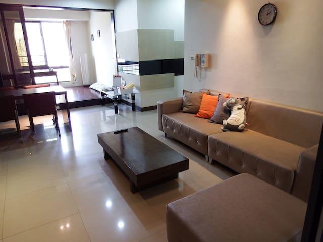 ComfortHouse Kaohsiung-Travel Friendly-左營高鐵站前 舒適小屋 - Zuoying District - Квартира
