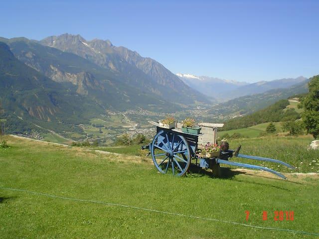Vacanze in totale tranquillità' - Grand-bruson - Casa