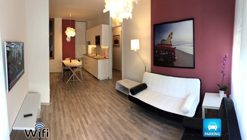 Splendido appartamento fronte mare con posto auto - Lignano Sabbiadoro - Departamento