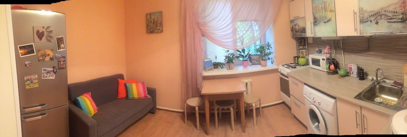 Уютная комната рядом с ж/д вокзалом - Nizhniy Novgorod