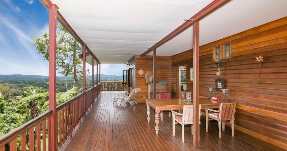 Dream Holiday Property with Breathtaking Views!!! - Kuranda - Hus