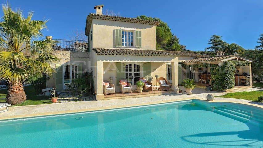8 pers. Villa / Big swimming pool / Garden w view - Saint-Paul-de-Vence - Villa