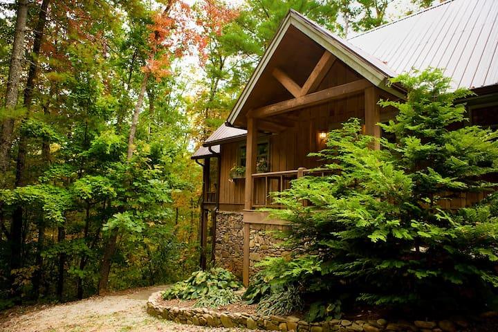Sapphire - A Quiet Splendor Mountain Cabin for 12 - Tiger - Hus