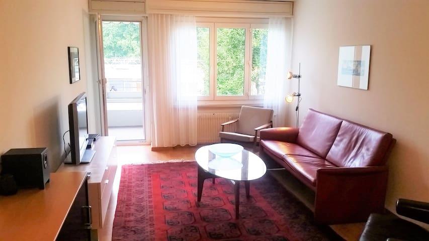 Cozy 2 bedrooms flat just 5 minutes from Bern - Zollikofen - Apartemen
