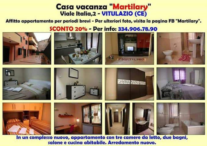 Casa vacanze Martilary Vitulazio - Vitulazio