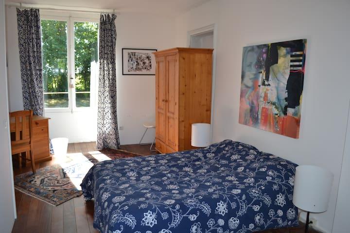 Chambre au calme - Saint-Hilaire-le-Châtel - Daire