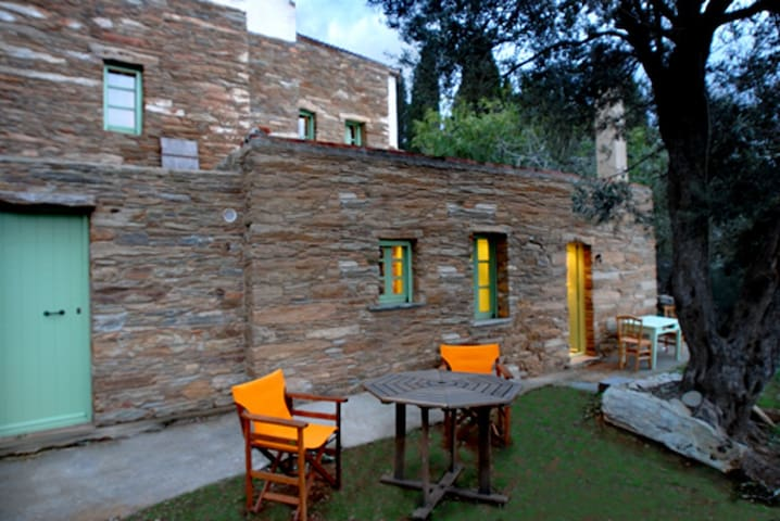 Traditional Cosy Stone Cottage-Elitsa (Olive Tree) - Ipsila - Huis