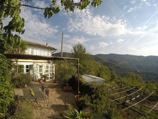Ferienhaus in Italien Ligurien - Ranzo - Casa