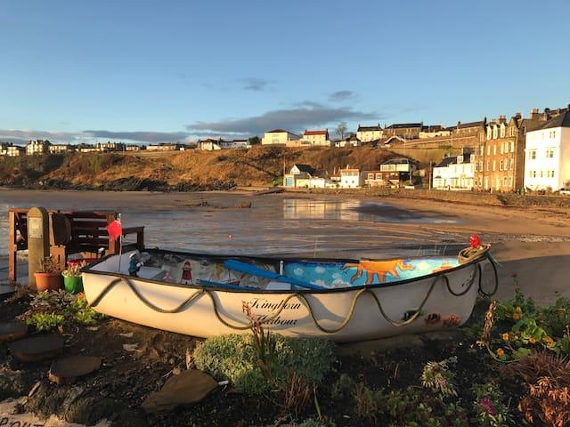 Unique Fife Coastal Retreat - Kinghorn - Квартира