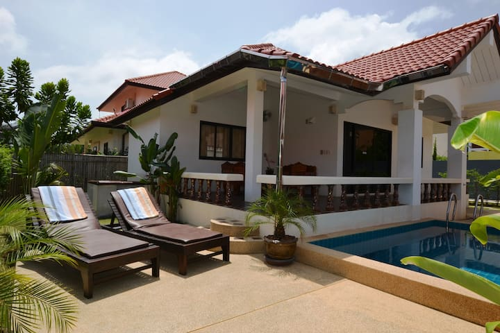Villa Malee Seaview med egen pool - Ko Lanta Yai - Casa