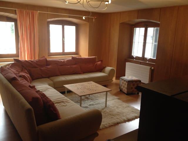 gross, ruhig und sonnig - Haldenstein - 公寓