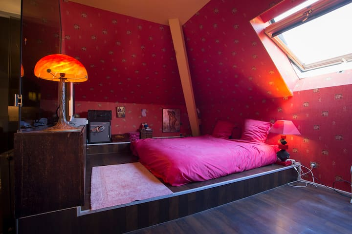 Chambre suite 1 ou 2 personnes - Guebwiller - Bed & Breakfast