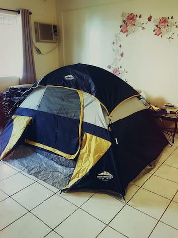 A tent in living room客厅帐篷 - Barrigada - Wohnung
