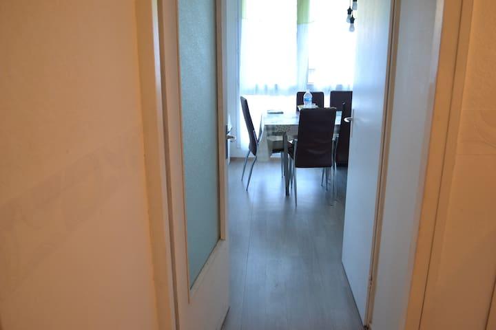 chambre privee dans appartment - Saint-Étienne - Leilighet