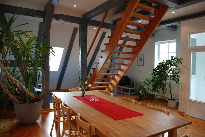 Ferienwohnung mit Seeblick - Gartow - Appartement