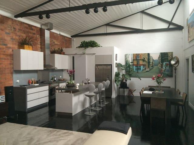 New York Style Luxury Warehouse - St Kilda East - Loft