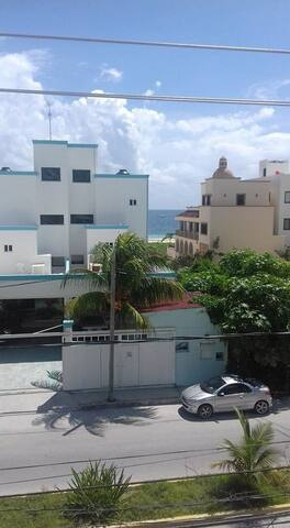 LOVELY AND CONFORTABLE SEAVIEW FLAT - Puerto Morelos - Appartement