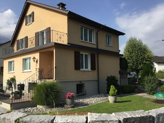 Top Zimmer in Horw - Luzern inkl. Frühstück - Horw - Huis