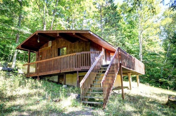 Chalet 1 chambre au lac Sarrazin - Sainte-Lucie-des-Laurentides - Kulübe