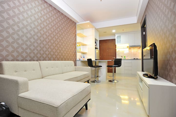 Nicely furnished comfortable 2BR Apartment - Jakarta selatan - Appartement