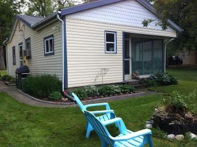 Canal's End Cottage on Buckeye Lake - Thornville - Hus
