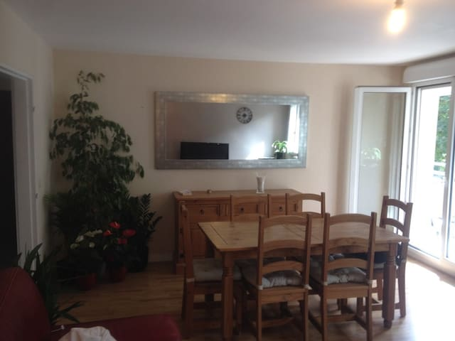 Chambre privée et confortable en ville - Évreux - Appartement