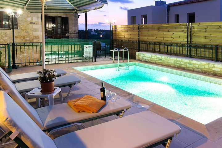 Villa in Rethymno with private pool - Rethymno - Vila