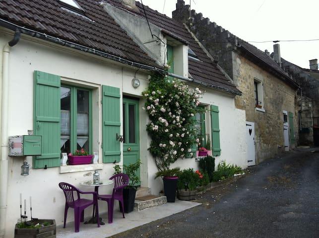 Le 42, Maison de charme à 15mn de Soissons - Maast-et-Violaine - Casa