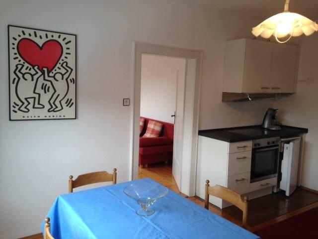 Gästezimmer mit Küche und Gartennutzung - Hagenbach - Casa