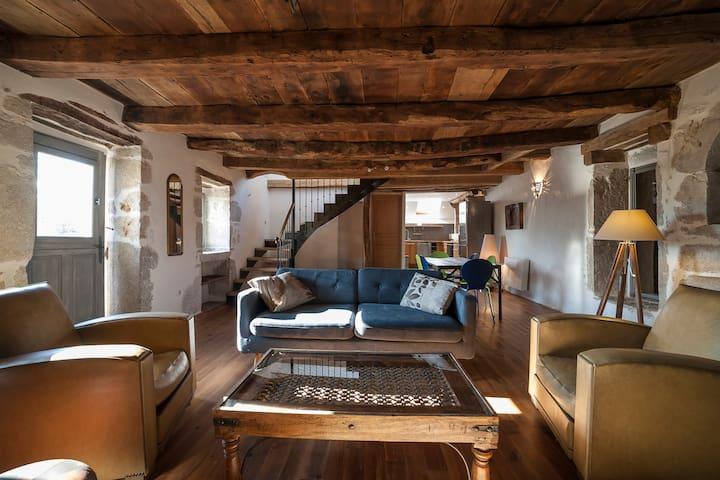 Naudou - Magnifique maison en pierre - Caniac-du-Causse - Rumah