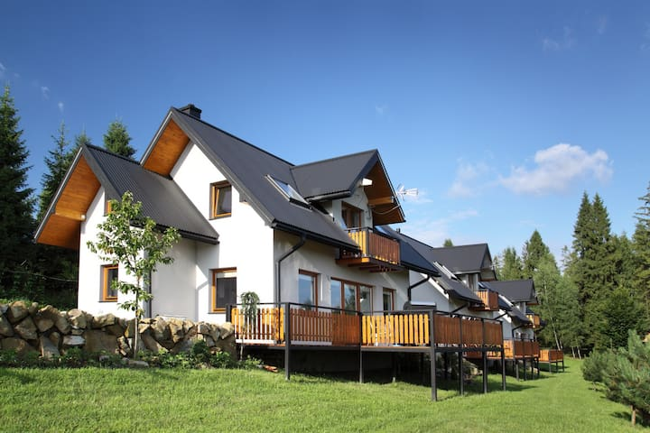 A comfortable detached house with a mountain view - Nowy Targ - Casa