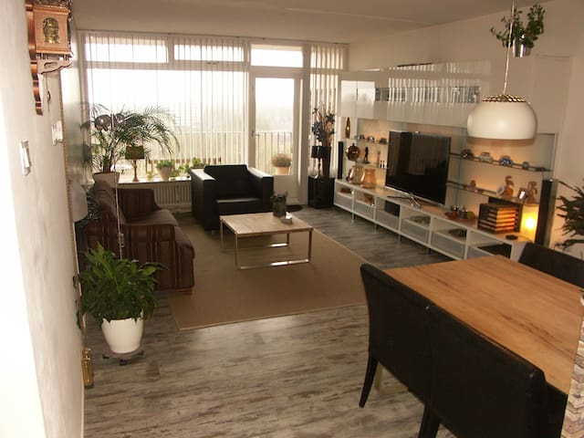 Beautiful appartment/ also for expats/business - Heerenveen - Daire