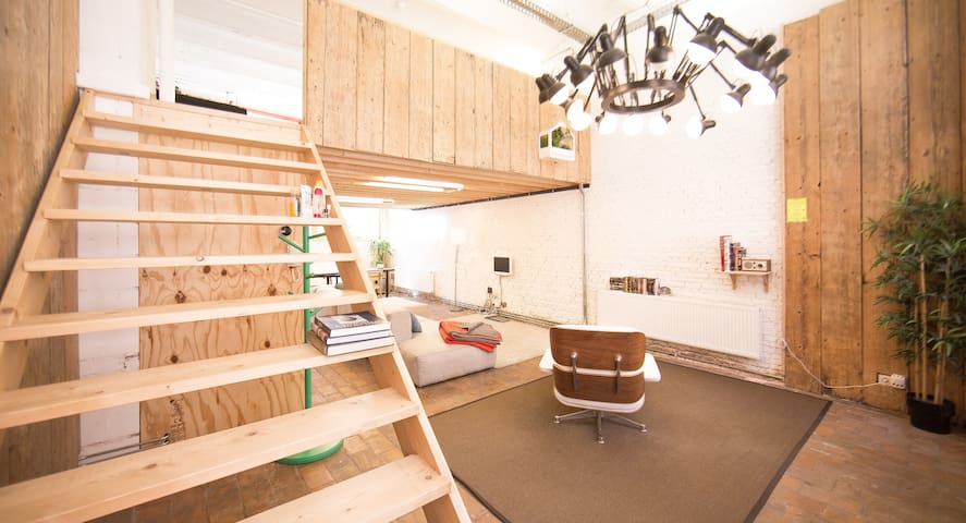 Antwerp Loft #1 (fantastic location!) - Antwerpen - Loft