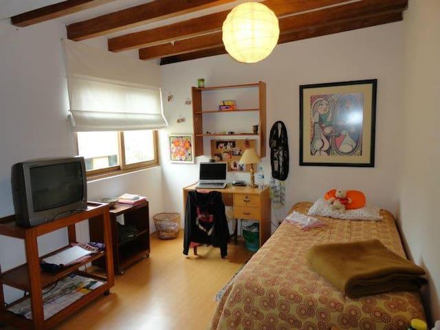 Dormitorio para una persona con baño compartido - Lima - Hus