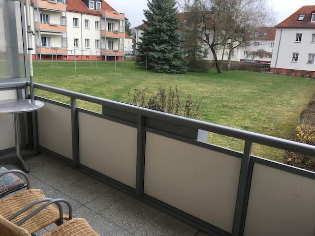 schöne möblierte Wohnung nähe Cospudener See - Markkleeberg - Leilighet