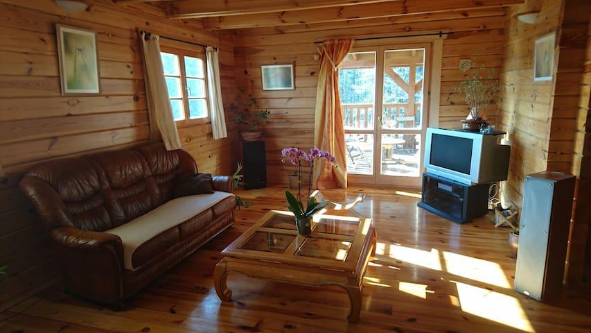 Maison bois dans le haut clunisois - Montagny-sur-Grosne - Chalet
