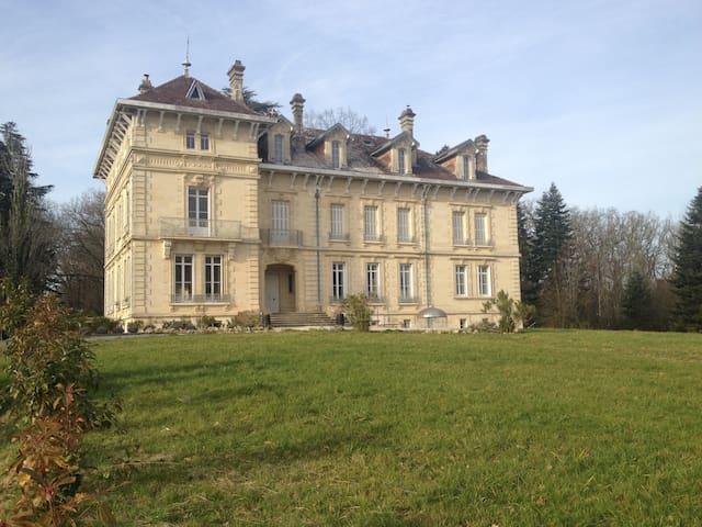 Appartement dans château 19eme - Carignan-de-Bordeaux - Castillo