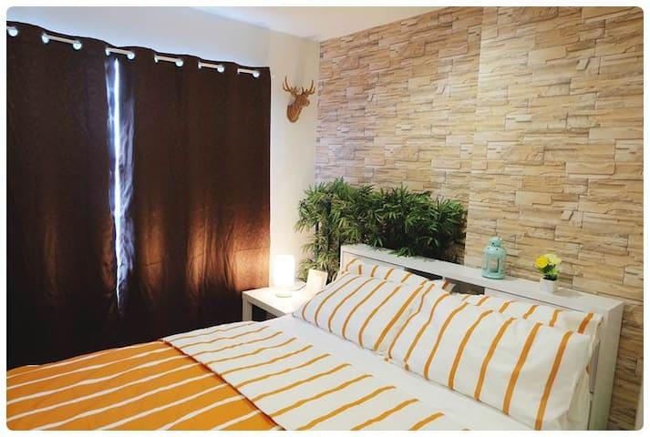 Warm and Cozy Suite in Bangkok - Bangkok - Leilighet