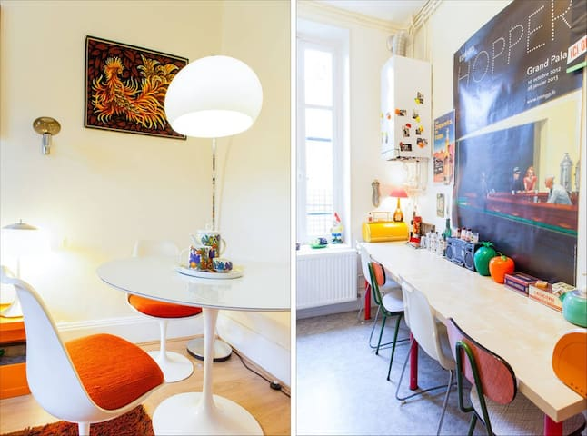 French&Fancy Flat, 2BR, bus station - Nancy - Apartment