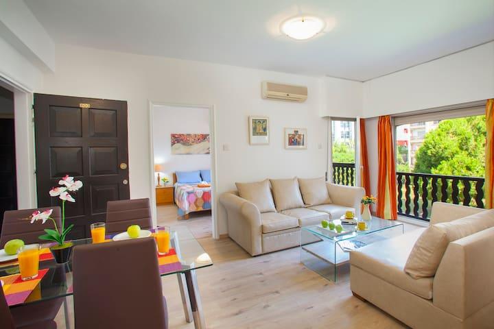 Castle Holiday Apartments, Flat A203 - Germasogeia - Apartamento