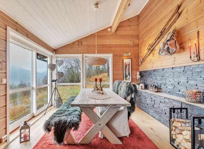 Wounderful cabin in the Alps - Sæbø - Natuur/eco-lodge